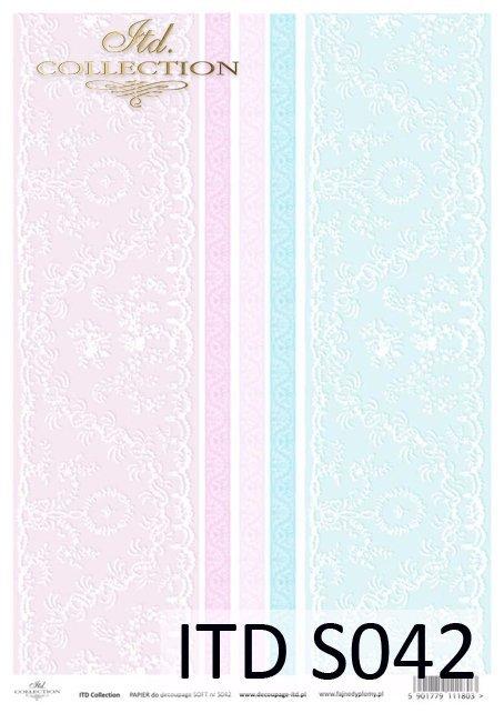 Decoupage paper Soft ITD S0042