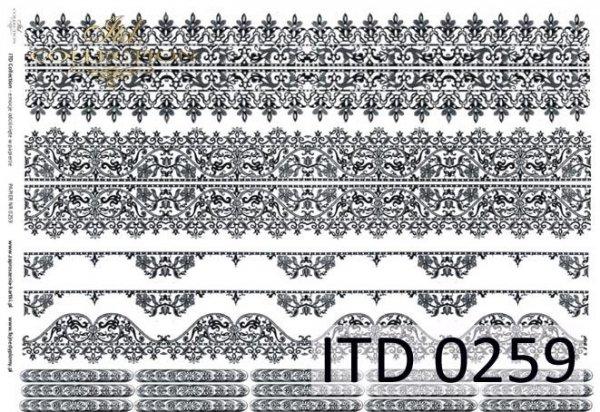 Decoupage paper ITD D0259M