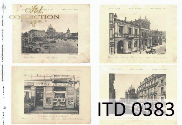 Decoupage Paper ITD D0383M