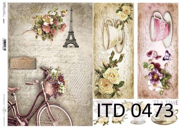 Decoupage paper ITD D0473M
