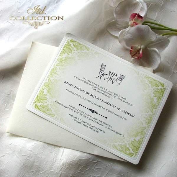 Invitations / Wedding Invitation 01738_cafe