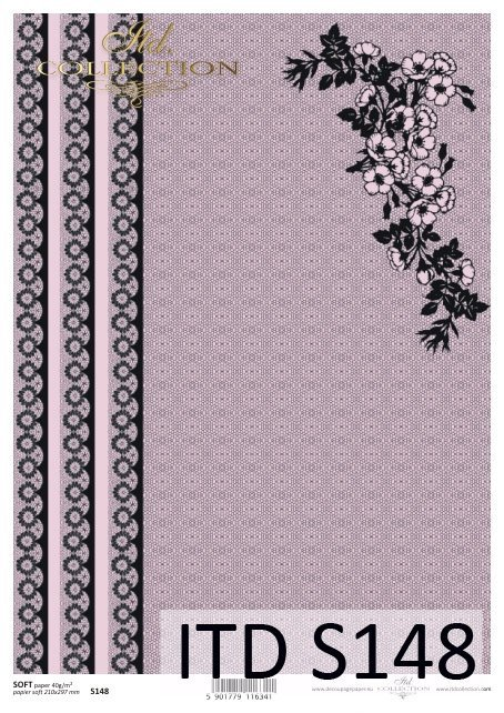 Decoupage paper Soft ITD S0148
