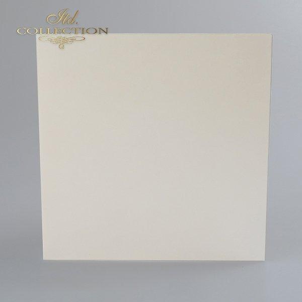 Card Base BDK-012 * cream colour, iridescent paper