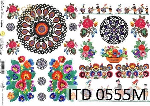 Decoupage paper ITD D0555M