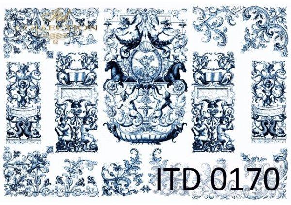 Decoupage paper ITD D0170M