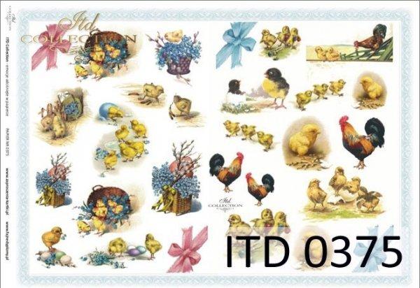 Decoupage paper ITD D0375M
