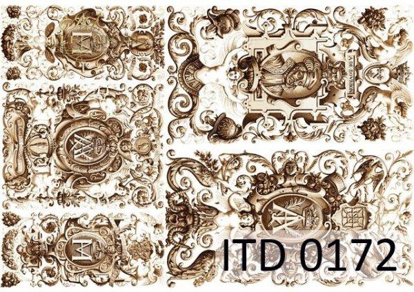 Decoupage paper ITD D0172M