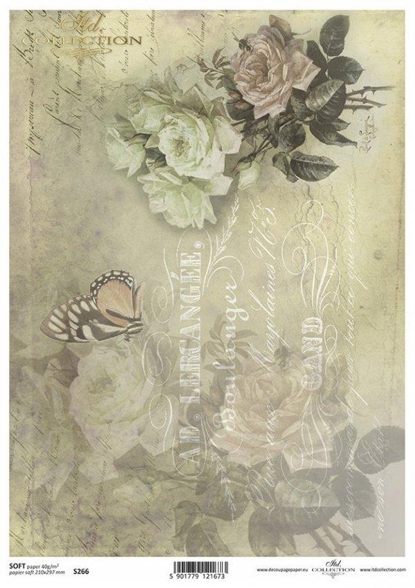 Decoupage paper Soft ITD S0266