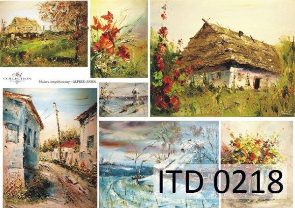 Decoupage paper ITD D0218M