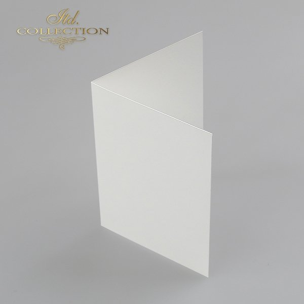 Baza do kartki kolor naturalna biel. Format kartki stworzony do koperty c6