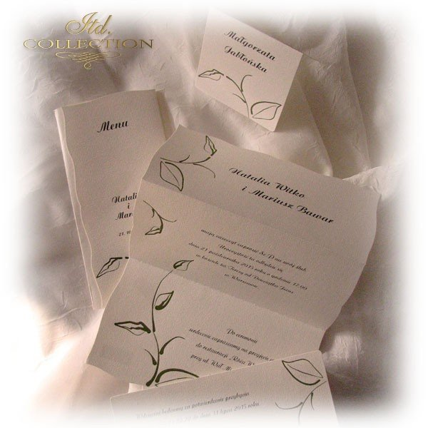 Invitations / Wedding Invitation 1456