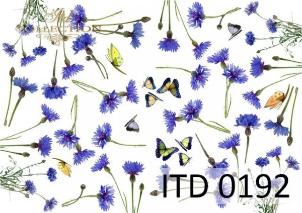 Decoupage paper ITD D0192M