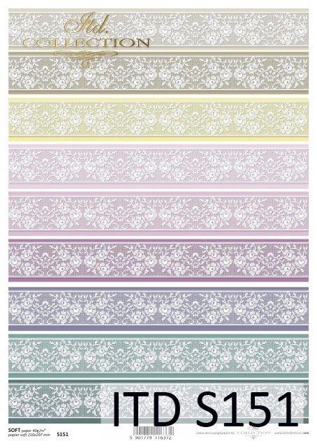 Decoupage paper Soft ITD S0151