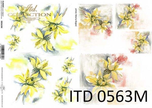 Decoupage paper ITD D0563M