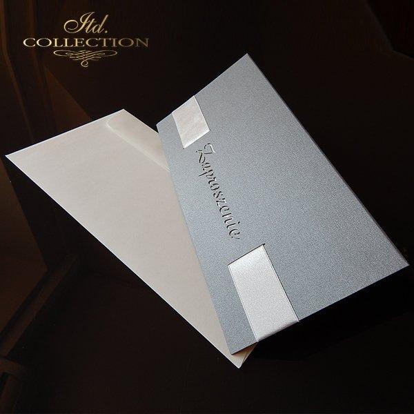 Zaproszenie biznesowe ZB1051 z kopertą