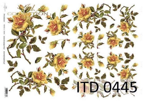 Decoupage paper ITD D0445M