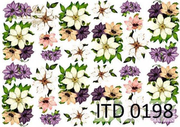 Decoupage paper ITD D0198M