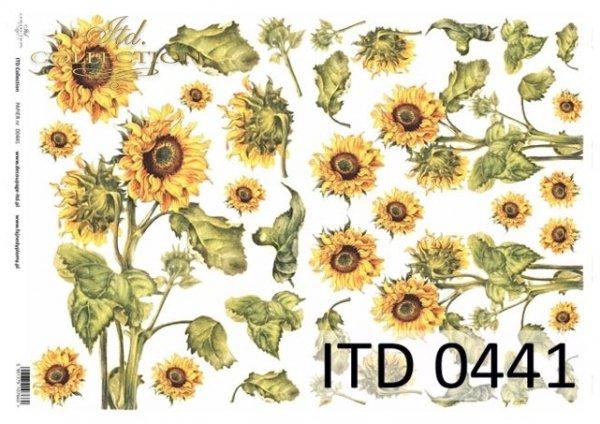 Decoupage paper ITD D0441M