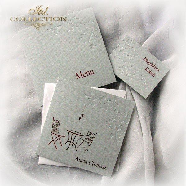 Invitations / Wedding Invitation 1724_34_red