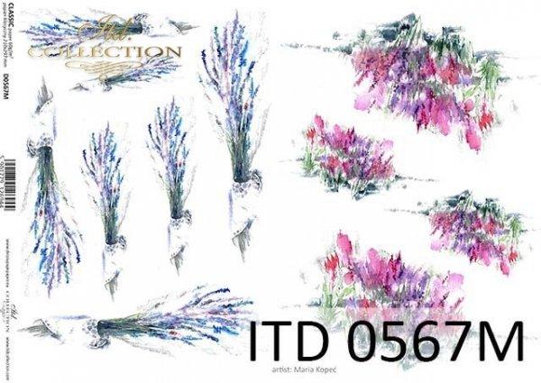 Decoupage paper ITD D0567M