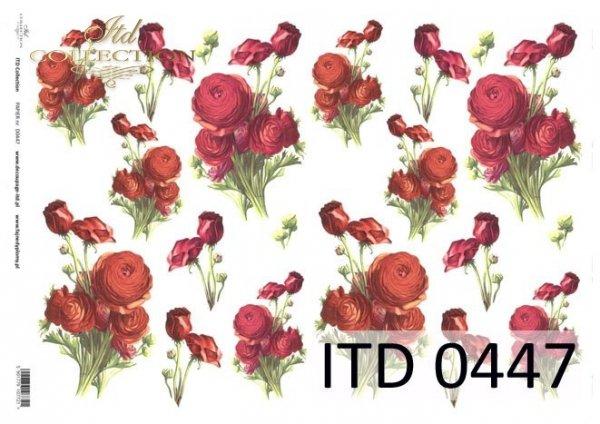 Decoupage paper ITD D0447M