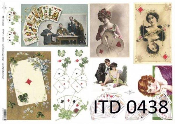 Decoupage paper ITD D0438M