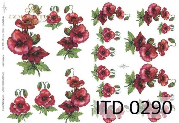 Decoupage paper ITD D0290M