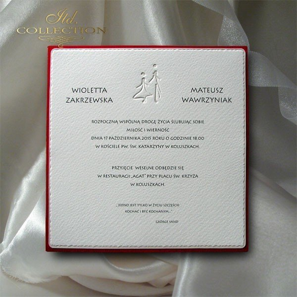 Invitations / Wedding Invitation 1710