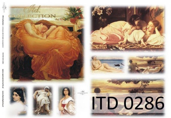 Papier decoupage ITD D0286