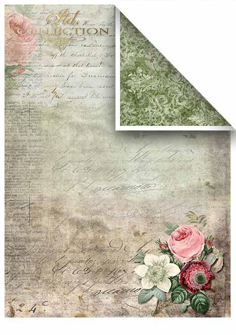 Papiery do scrapbookingu w zestawach - piękne motyle * Papers for scrapbooking in sets - beautiful butterflies