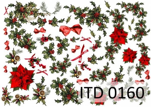 Papier decoupage ITD D0160
