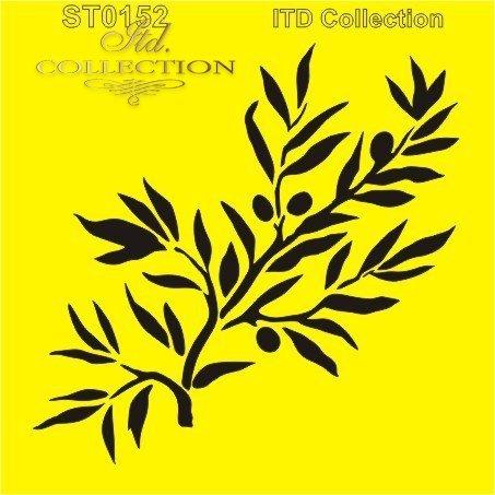 stencil-szablon-Schablone-трафарет-plantilla-ST0152A