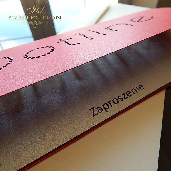 Zaproszenie biznesowe ZB1047 z kopertą
