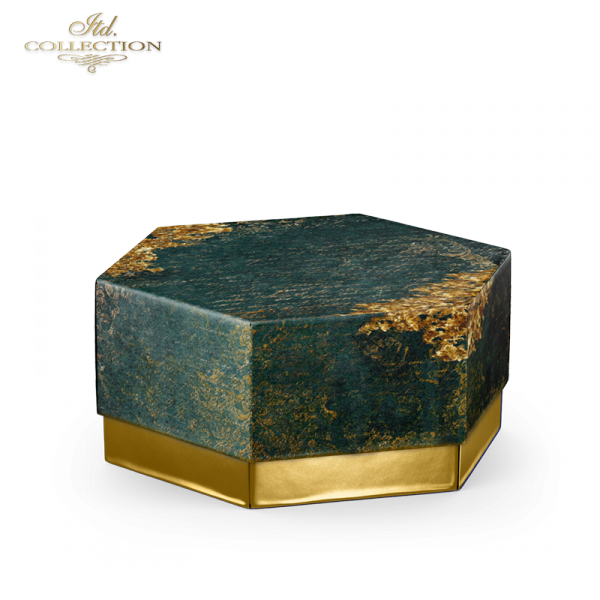 Papier-decoupage-dekory-ornamenty-stare-pismo-zielen-złoto-decors-ornaments-old-letter-gold-1
