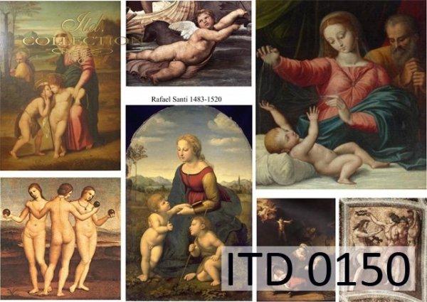 Papier decoupage ITD D0150