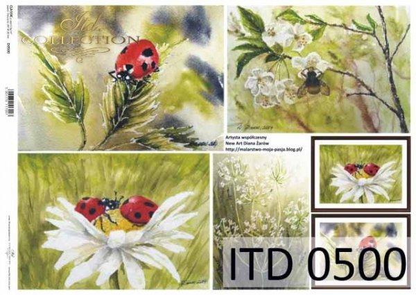 Papier decoupage ITD D0500