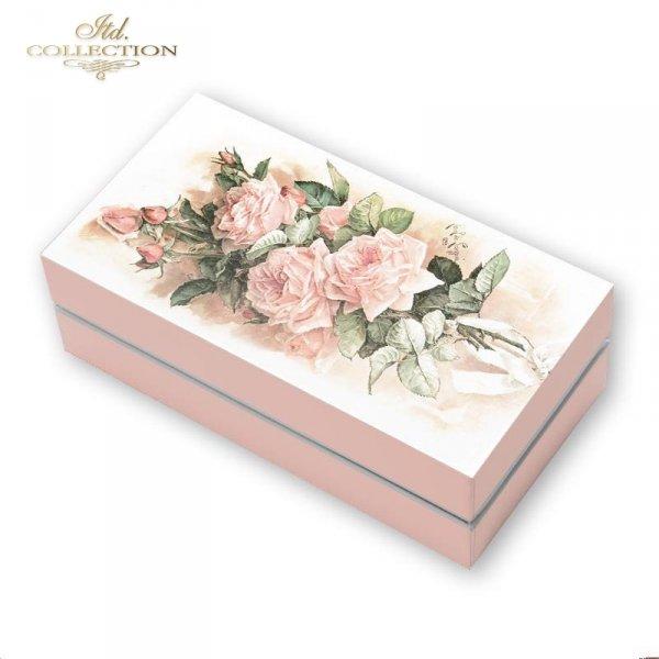 example-1-Vintage-kwiaty-różowe-róże-papier-decoupage-ryżowy-R1198