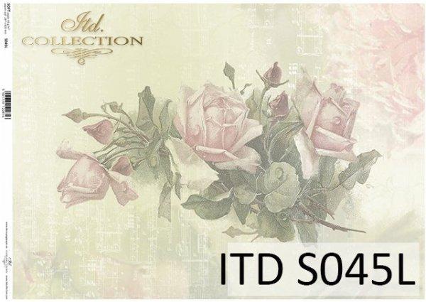 Papier decoupage SOFT ITD S0045L