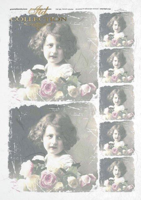 old pictures, children's portrait, children, retro, R262