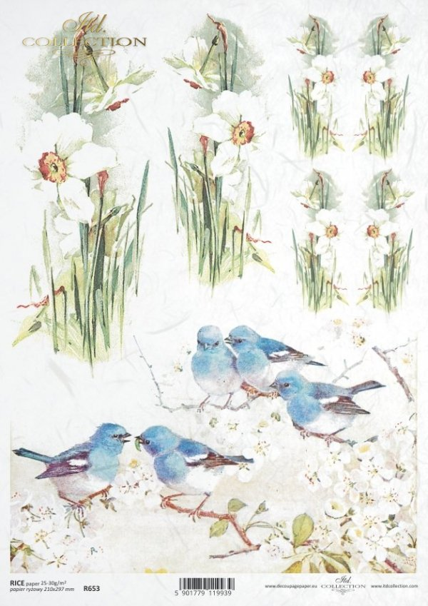 Papier ryżowy ITD R0653