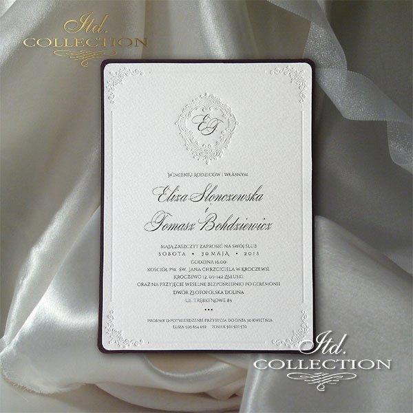 Zaproszenia ślubne / zaproszenie 2011