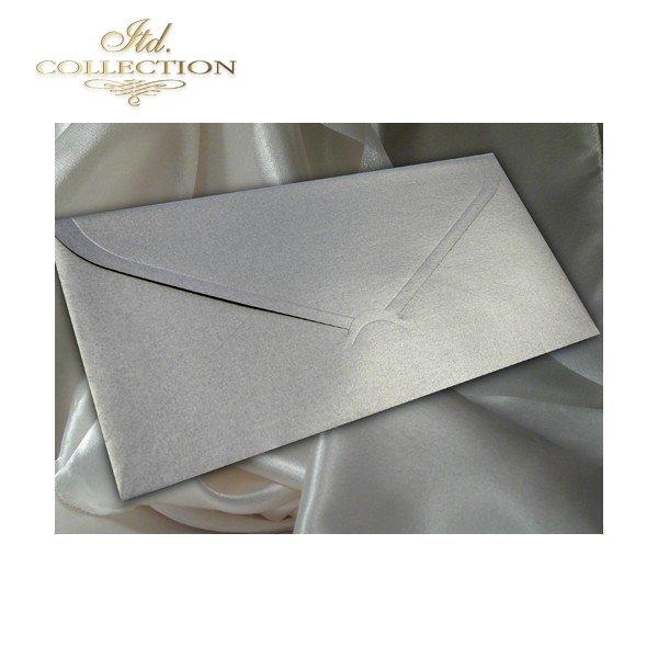 Zaproszenie biznesowe ZB1008 ze srebrną kopertą