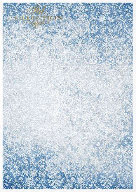 Zestaw-kreatywny-na-papierze-ryżowym-Cztery-Żywioły-Woda*Set-creative-on-rice-paper-Four-Elements-Water