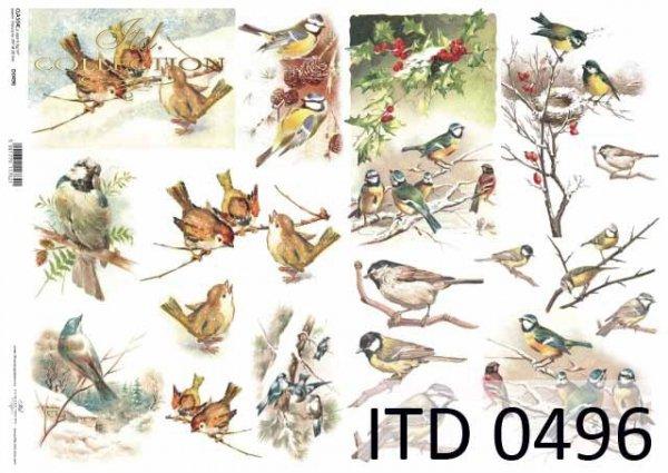 Papier decoupage ITD D0496