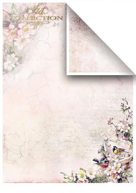Zestawy-papierow-do-scrapbookingu-zestaw-Lato-w-rozach-SCRAP-045-03-ptaszki-motylki-kwiatki-kwiatuszki-mediowe-struktury-tla-struktury-farb-desek-spekaliny-crak