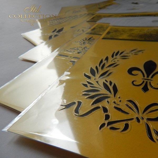 szablon do mix media stencil Schablone plantillas decoupage ST0150B - 1