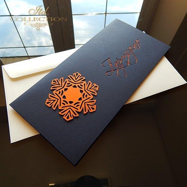 Zaproszenie biznesowe ZB1022 z kopertą