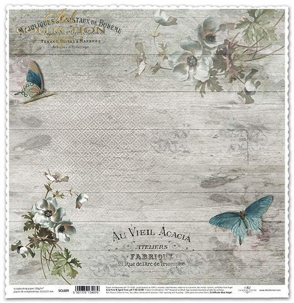 flores de papel para álbum de recortes*бумажные цветы для скрапбукинга*Papierblumen für das Scrapbooking