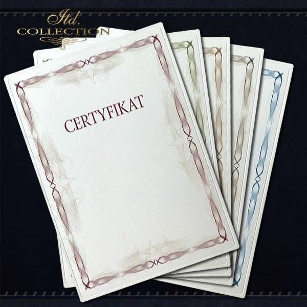 dyplom DS0308 certyfikat