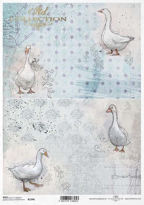 papel de arroz decoupage Pascua*Decoupage Reispapier Ostern*декупаж рисовая бумага Пасха